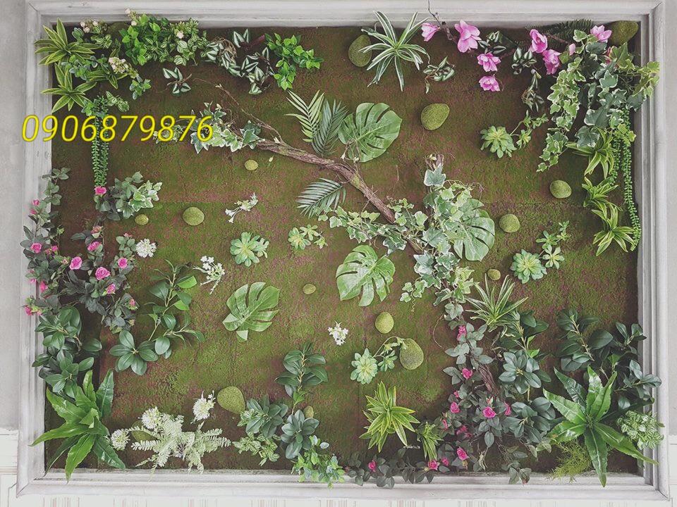 1m2 tường cây giả bao nhiêu tiền, đơn giá thi công 1m2 tường cây, tường cỏ nhân tạo