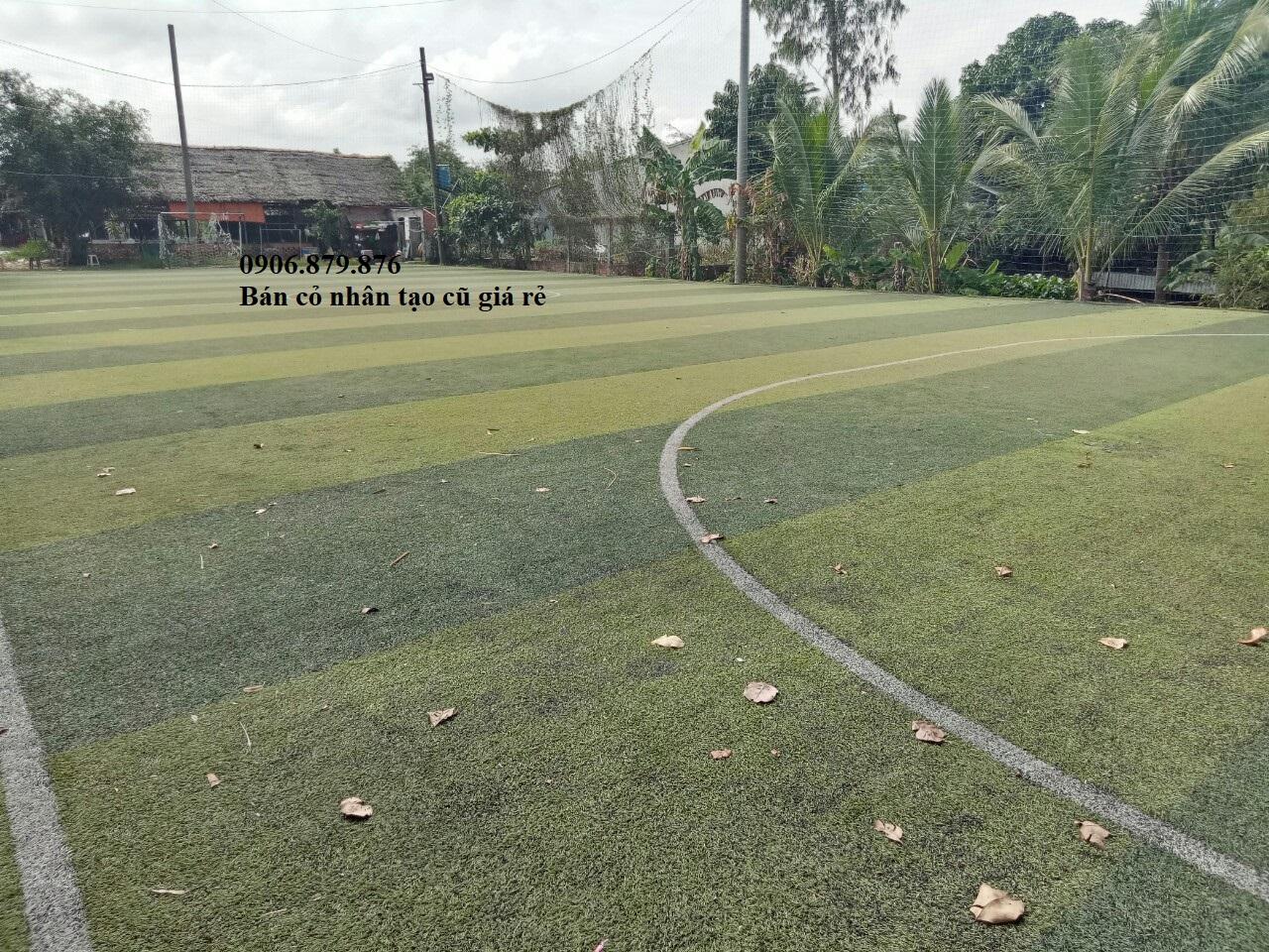 Thanh lý sân bóng đá mini, bán cỏ nhân tạo cũ giá rẻ. Cung cấp cỏ nhân tạo qua sử dụng
