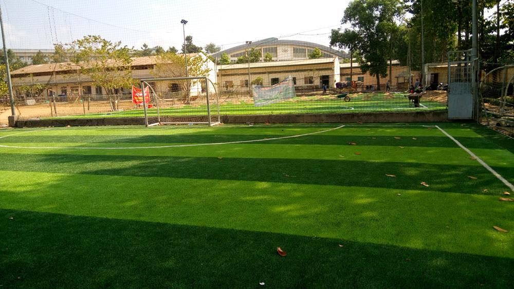 Sân bóng trường đại học an ninh nhân dân